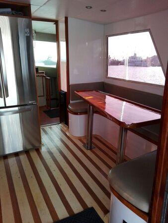 azteca boat kitchen