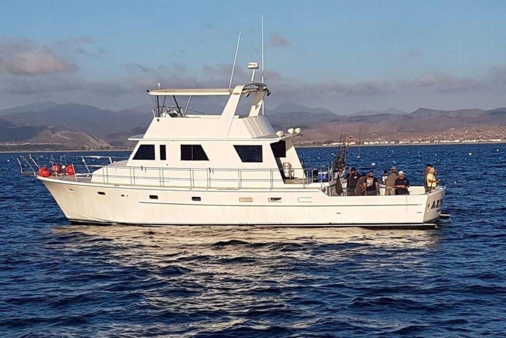 ensenada charter boat azteca